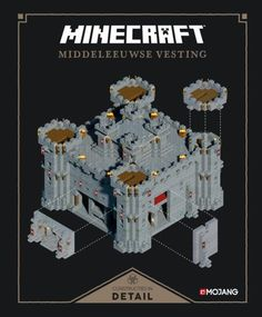Booktopia has Minecraft: Exploded Builds: Medieval Fortress, An Official Mojang Book by Mojang Ab. Buy a discounted Hardcover of Minecraft: Exploded Builds: Medieval Fortress online from Australia's leading online bookstore. Château Minecraft, Minecraft Castle Blueprints, Minecraft Kingdom, Minecraft Medieval, Minecraft Construction, Amazing Minecraft, Minecraft Crafts, Mojang Minecraft, Minecraft Small Castle