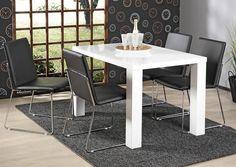 KIDE-pöytä 120x80cm ja 4kpl FADO-tuoli    Sotka.fi
