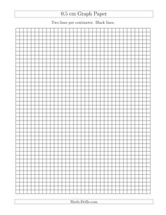 The Three Line Graph Paper With  Inch Major Lines  Inch