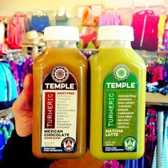 """""""I am prepared with #superfoods! I can take on anything with these in my system."""" - @jesrunonorganic #templeturmeric #turmeric #cacao  #matcha #coconut #hemp"""