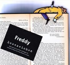 """Freddy"" bookmark"