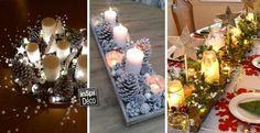 Magnifiques centres table pour noel! 20 idées pour vous inspirer…
