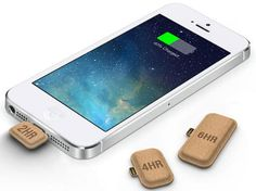 These little pieces of cardboard actually charge your smartphone battery, and they are environmentally friendly!