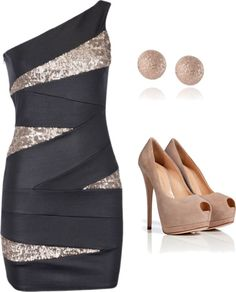 """Glamour"" by tagnolis on Polyvore"