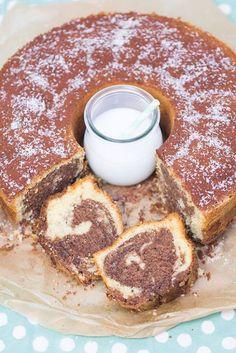 Kokos-Nutella-Marmorkuchen - Rezept   verzuckert-blog.de