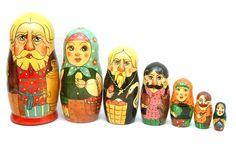 "Art Doll from Sergiev-Posad ""Russkaya Yarmarka (Russian Fair)"""