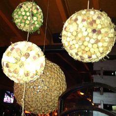 Wine cork decorations