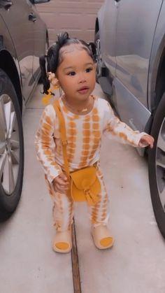 Cute Mixed Babies, Cute Black Babies, Black Baby Girls, Beautiful Black Babies, Beautiful Children, Cute Babies, Cute Kids Fashion, Cute Outfits For Kids, Baby Girl Fashion