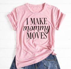 Mama est Tee T Shirt Top Slogan Statement blogger Celeb Inspired New Mummy Gift