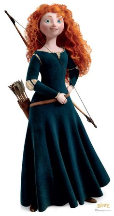 """Disney Pixar's Merida from """"Brave"""" My Granddaughter Indie loves this movie as do I. We had a wonderful movie night ! We watched brave together and had popcorn and  coke for the special event! A wonderful memory that will forever be in my heart!"""