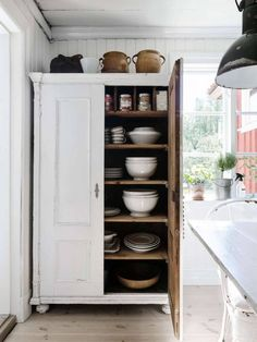 cabinet for storage. A Lovingly Restored House In Sweden   AtNo67 Concept Store