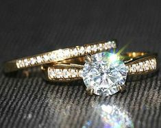 Elegant Affordable Custom Moissanite by SolitaireRingJeweler Wedding Bands, Wedding Ring, Bridal Sets, Antique Rings, Solitaire Ring, White Gold Rings, Moissanite, Gifts For Her, Engagement Rings
