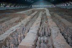 Oh, what they will do to prove their power . . . Chinese Terracotta Army, Qin Dynasty