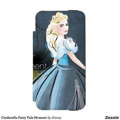 Cinderella Fairy Tale Moment Wallet Case For iPhone SE/5/5S