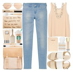 I'll Love You More Tomorrow Than Today by heartart on Polyvore featuring polyvore fashion style Monki Uniqlo Sol Sana Sissy Yates Estée Lauder Yves Saint Laurent Stila Laura Mercier Philip Kingsley Sabre ASOS Pigeon & Poodle Ray-Ban clothing