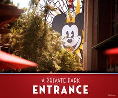 With valid park admission, Guests of Disney's Grand Californian Hotel & Spa can easily access Disney California Adventure Park and the Downtown Disney District thanks to a convenient entrance located on the hotel grounds.