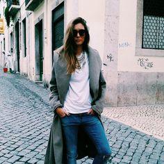 Joana Freitas Duster Coat, Normcore, Chic, Portuguese, Jackets, Beauty, Women, Fashion, Inspiring Women
