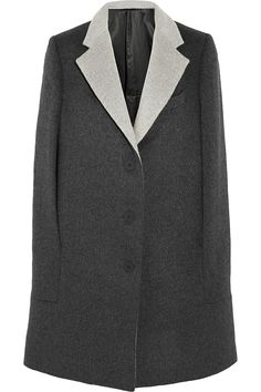 Richard Nicoll | Brushed wool and angora-blend cape | NET-A-PORTER.COM