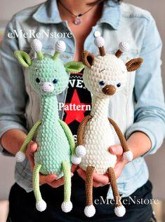 Toby the Giraffe Amigurumi pattern amigurumi giraffe