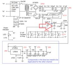 Updated Power Supply Schematic - Groovewatt Tube (Valve) RIAA Phono Preamp