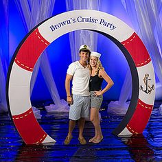 Place our 9 feet 9 inch high corrugated and cardboard arch at your party entrance for a great photo opportunity and welcome area. Assembly required.