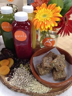 PALETA chef and founder Kelly Boyer makes the PALETA Energy Bar! #healthy #energy #bar #homeandfamily #homeandfamilytv