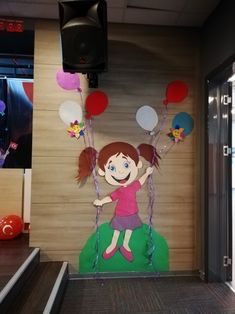 23 NİSAN Sahnesi Classroom Door Displays, Applis Photo, School Decorations, Kids And Parenting, Backdrops, Crafts For Kids, Graduation, Happy Birthday, Paper Crafts