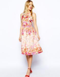 Enlarge ASOS Floral Prom Dress