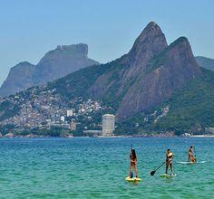 SUP... in Rio de Janeiro...