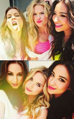 Pretty Little Liars Troian Belliasrio Shay Mitchell Ashley Benson Pll, Ashley Benson, Abc Family, Preety Little Liars, Spencer Hastings, Best Shows Ever, Actors & Actresses, Beautiful People, Tv Shows