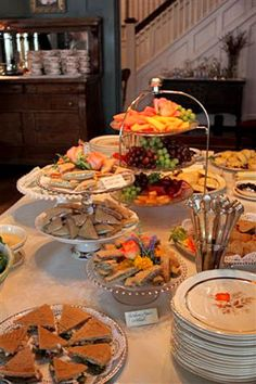 English Tea Sandwiches & Finger Desserts for any afternoon affair