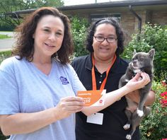 Congratulations to Tina Rajan of Rochester, Oakland County Animal Control & Pet Adoption Center's Volunteer of the Month for July 2013!