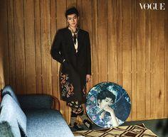 Sehun (EXO) - Vogue Magazine April Issue '17