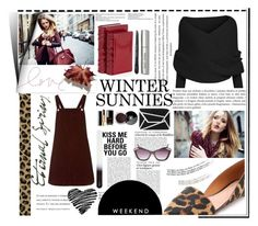 """winter sunnies. <3"" by tatjana ❤ liked on Polyvore featuring Givenchy, Madewell, Topshop, Akira, Bobbi Brown Cosmetics, Chanel, H&M, Betsey Johnson and wintersunnies"