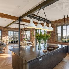 "166 Likes, 4 Comments - The Sunday Times Home (@sundaytimeshome) on Instagram: ""#London #loftliving The reworked Victorian Chappell piano factory, in #Camden, has artfully rusted…"""