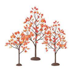 Fall Trees Home Deco