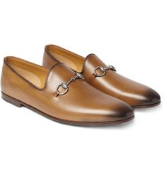 GucciHorsebit Leather Loafers
