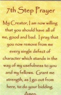 7th step prayer