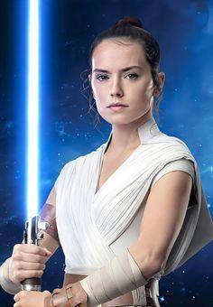 The Force Star Wars, Rey Star Wars, Star Wars Film, Star Wars Art, Star Wars Characters, Star Wars Episodes, Daisy Ridley Hot, Star Wars Sequel Trilogy, Star Wars Drawings