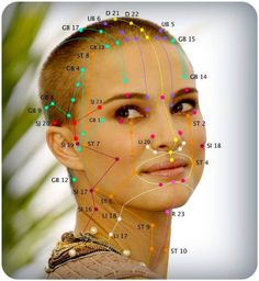 for beautiful life: Acupuncture facial rejuvenation that is based on .Acupuncture for beautiful life: Acupuncture facial rejuvenation that is based on . Acupuncture Benefits, Acupuncture Points, Acupressure Points, Qigong, Asthma Relief, Pain Relief, Asthma Remedies, Facial Rejuvenation, Traditional Chinese Medicine