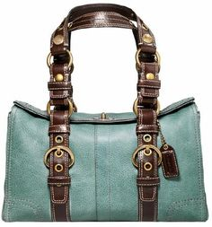 Coach Chelsea Vintage Leather Satchel--Santa--I have been so good this year:)