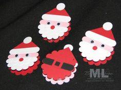 LovenStamps - The Blog --Meg Loven, Stampin' Up! Demonstrator: Scallop Punch Santas