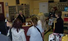 Is Tea popular with Shift Network Members - At Steepers Tea on May Street, Pat shares tea knowledge.