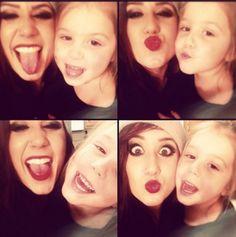 Chelsea Houska & Daughter Aubree Pose For Pics - Teen Mom #TeenMom #TM2