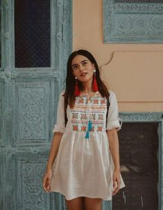 ideas for fashion spring boho cute outfits Casual Indian Fashion, Trendy Fashion, Boho Fashion, Fashion Dresses, Travel Fashion, Grunge Fashion, Fashion Spring, Street Fashion, Kurti Designs Party Wear