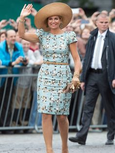 Queen Maxima of the Netherlands attends the celebration of the 200th anniversary of the Kingdom of the Netherlands on August 30, 2014 in Maastricht #fabiennedelvigne