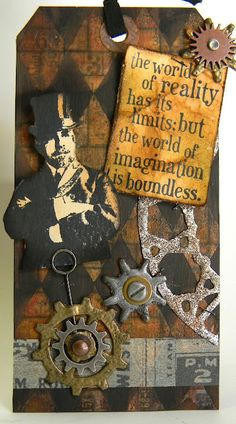Cool steampunk tag