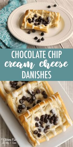Delicious Chocolate Cream Cheese Danishes recipe with chocolate chips. # Delicious Chocolate Cream Cheese Danishes recipe with chocolate chips. Source by cleanscentsible Breakfast Pastries, Sweet Pastries, Sweet Breakfast, Breakfast Dishes, Breakfast Recipes, Homemade Breakfast, Breakfast Ideas, Delicious Chocolate, Delicious Desserts