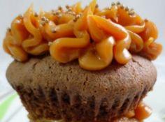 Receita de Cupcake de Chocolate com Doce de Leite - Cyber Cook...