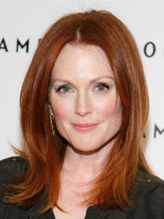 Dare to Go Red: Photos of Gorgeous Red Hair Color: Gorgeous Redheads: Julianne Moore's Red Hair